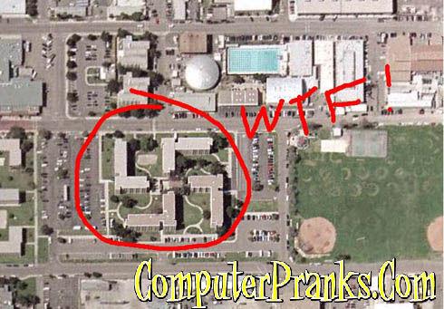 Google Earth Swastika